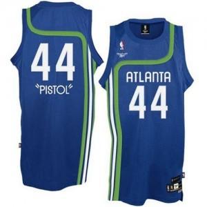 Maillot NBA Swingman Pete Maravich #44 Atlanta Hawks Pistol Bleu clair - Homme
