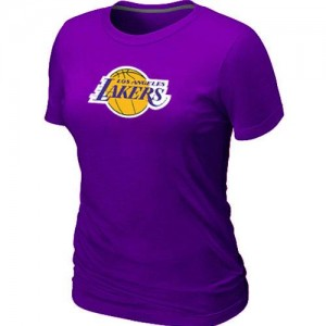 T-Shirts NBA Los Angeles Lakers Big & Tall Violet - Femme