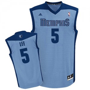 Maillot Swingman Memphis Grizzlies NBA Alternate Bleu clair - #5 Courtney Lee - Homme