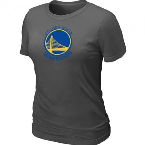 T-Shirts NBA Golden State Warriors Gris foncé Big & Tall - Femme