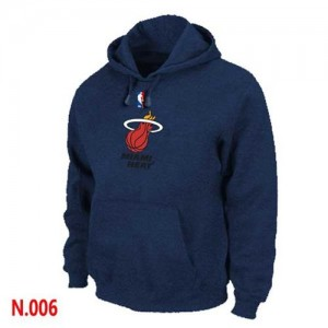 Pullover Sweat à capuche Miami Heat NBA Marine - Homme