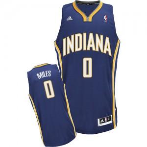 Indiana Pacers C.J. Miles #0 Road Swingman Maillot d'équipe de NBA - Bleu marin pour Homme