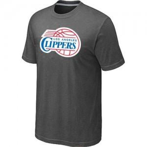 T-Shirts NBA Gris foncé Los Angeles Clippers Big & Tall Homme