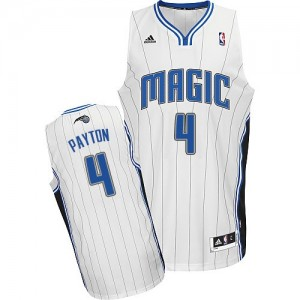 Maillot Adidas Blanc Home Swingman Orlando Magic - Elfrid Payton #4 - Homme