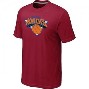 T-Shirts NBA New York Knicks Rouge Big & Tall - Homme