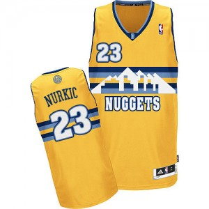 Denver Nuggets #23 Adidas Alternate Or Authentic Maillot d'équipe de NBA Soldes discount - Jusuf Nurkic pour Homme