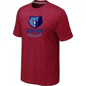 T-Shirts NBA Memphis Grizzlies Rouge Big & Tall - Homme