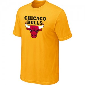 T-Shirts Jaune Big & Tall Chicago Bulls - Homme