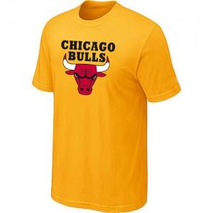 T-Shirts Jaune Big & Tall Chicago Bulls - Homme