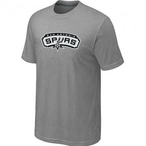 T-Shirts NBA San Antonio Spurs Big & Tall Gris - Homme
