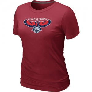 T-Shirts NBA Atlanta Hawks Big & Tall Rouge - Femme