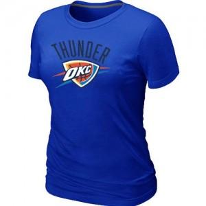 T-shirt principal de logo Oklahoma City Thunder NBA Big & Tall Bleu - Femme