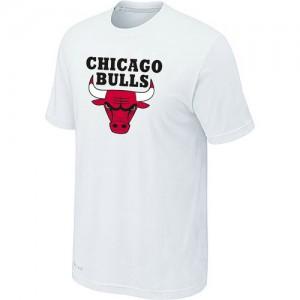 T-Shirts Blanc Big & Tall Chicago Bulls - Homme