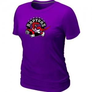 Toronto Raptors Big & Tall Violet T-Shirts d'équipe de NBA la meilleure qualité - pour Femme