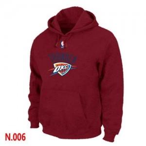 Oklahoma City Thunder Sweat à capuche d'équipe de NBA - Rouge pour Homme