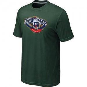 T-shirt principal de logo New Orleans Pelicans NBA Big & Tall Vert foncé - Homme