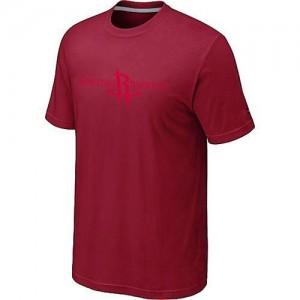 T-shirt principal de logo Houston Rockets NBA Big & Tall Rouge - Homme