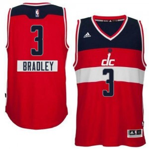 Maillot Adidas Rouge 2014-15 Christmas Day Authentic Washington Wizards - Bradley Beal #3 - Homme