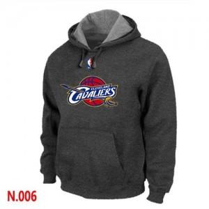 Pullover Sweat à capuche Cleveland Cavaliers NBA Gris foncé - Homme