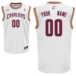 Cleveland Cavaliers Swingman Personnalisé Home Maillot d'équipe de NBA - Blanc pour Enfants