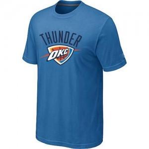 Oklahoma City Thunder Big & Tall Bleu clair T-Shirts d'équipe de NBA la meilleure qualité - pour Homme