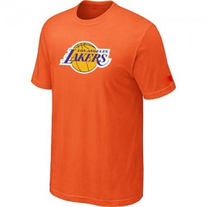 T-shirt principal de logo Los Angeles Lakers NBA Big & Tall Orange - Homme