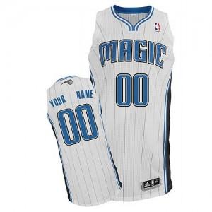 Orlando Magic Authentic Personnalisé Home Maillot d'équipe de NBA - Blanc pour Homme