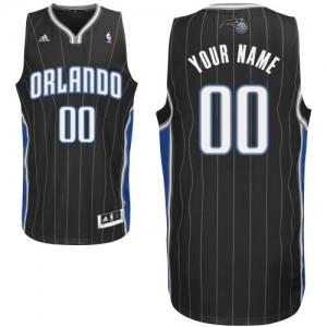 Maillot NBA Orlando Magic Personnalisé Swingman Noir Adidas Alternate - Femme