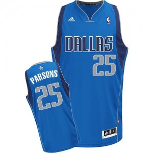 Maillot Swingman Dallas Mavericks NBA Road Bleu royal - #25 Chandler Parsons - Homme