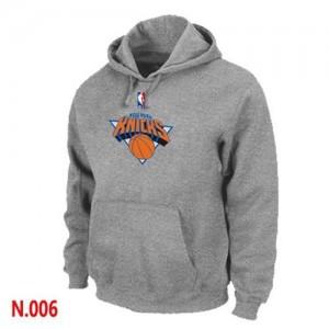 New York Knicks Sweat à capuche d'équipe de NBA - Gris pour Homme