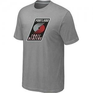 T-Shirts Gris Big & Tall Portland Trail Blazers - Homme