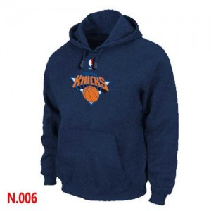 Sweat à capuche NBA New York Knicks Marine - Homme