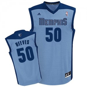 Maillot NBA Bleu clair Bryant Reeves #50 Memphis Grizzlies Alternate Swingman Homme Adidas