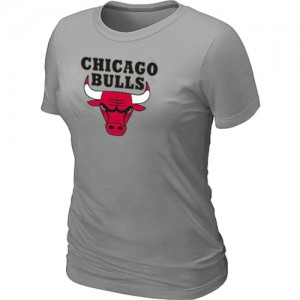 T-Shirts Gris clair Big & Tall Chicago Bulls - Femme