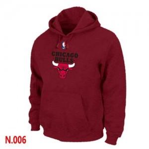 Chicago Bulls Sweat à capuche d'équipe de NBA - Gris foncé pour Homme