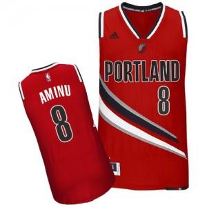 Maillot Adidas Rouge Alternate Swingman Portland Trail Blazers - Al-Farouq Aminu #8 - Homme