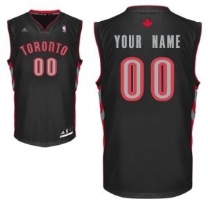 Maillot NBA Swingman Personnalisé Toronto Raptors Alternate Noir - Femme
