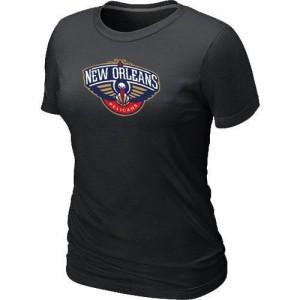 T-Shirts Noir Big & Tall New Orleans Pelicans - Femme