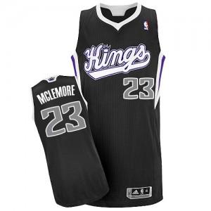 Maillot NBA Noir Ben McLemore #23 Sacramento Kings Alternate Authentic Homme Adidas