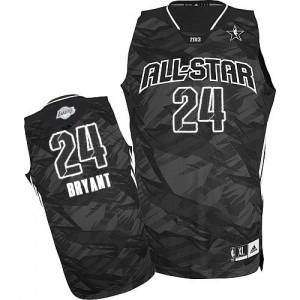 Los Angeles Lakers #24 Adidas 2013 All Star Noir Authentic Maillot d'équipe de NBA Soldes discount - Kobe Bryant pour Homme