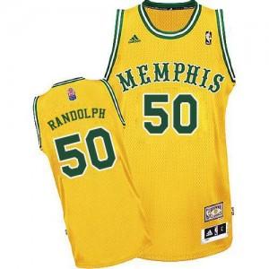 Memphis Grizzlies #50 Adidas ABA Hardwood Classic Or Swingman Maillot d'équipe de NBA la vente - Zach Randolph pour Homme
