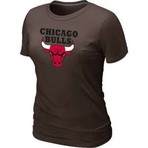 T-Shirts NBA marron Chicago Bulls Big & Tall Femme