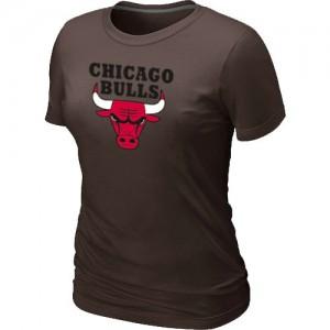 T-Shirts NBA marron Chicago Bulls Big & Tall Femme