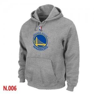 Sweat à capuche NBA Gris Golden State Warriors Homme