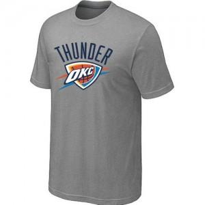 T-Shirts NBA Gris Oklahoma City Thunder Big & Tall Homme