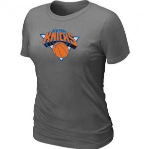 T-Shirts NBA Gris foncé New York Knicks Big & Tall Femme