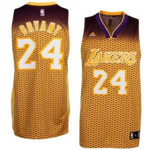 Maillot Adidas Or Resonate Fashion Swingman Los Angeles Lakers - Kobe Bryant #24 - Homme