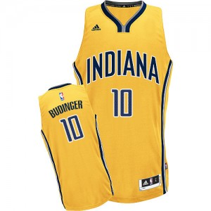 Maillot NBA Swingman Chase Budinger #10 Indiana Pacers Alternate Or - Homme