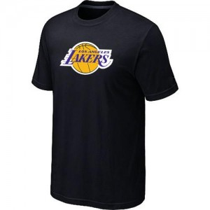 Los Angeles Lakers Big & Tall Noir T-Shirts d'équipe de NBA Promotions - pour Homme