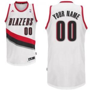 Maillot Portland Trail Blazers NBA Home Blanc - Personnalisé Swingman - Enfants